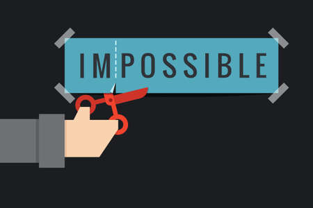 possibility: hand cutting impossible to possible