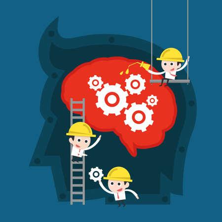 cooperativa: el trabajo en equipo concepto