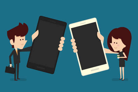 using smart phone: people with smart phone