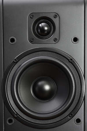 sub woofer: speaker close up Stock Photo