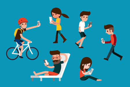 texting: Smartphone society.