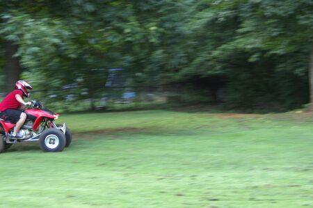 More 4-wheeler action