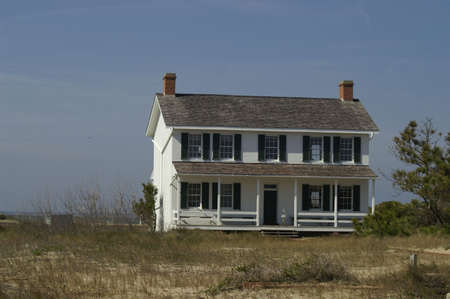 Light house keepers cottage 4 Stock Photo