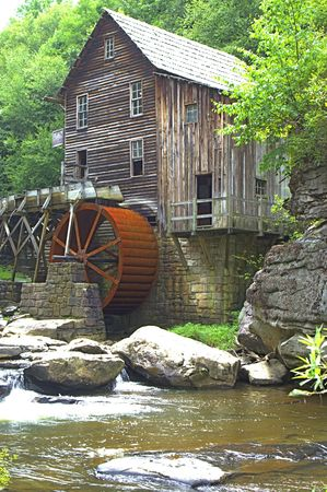 An old grist mill in VA
