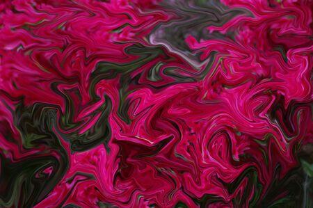 A red blurred swirled background
