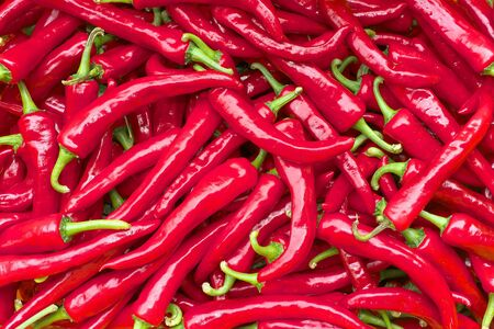 red chili peppers background horizontal