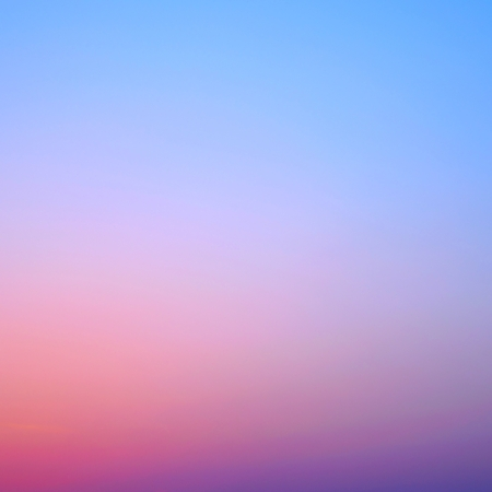 azure: clear sunset sky gradient background square