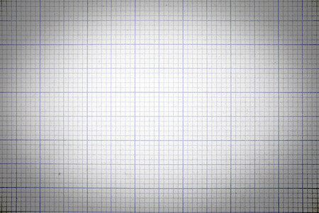 grid paper: grid paper background with vintage style tone and vignette effect Stock Photo