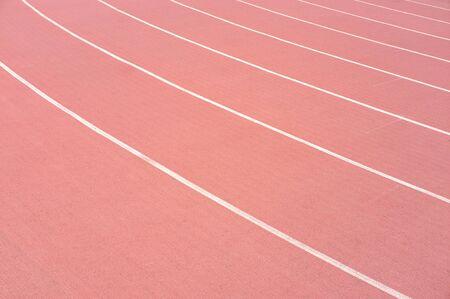 athletic running track background Imagens