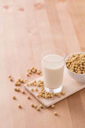 Soy and Soy Milk 写真素材