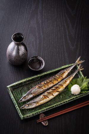 Autumn Sword Fish and Sake