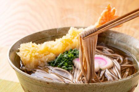 Japanese cuisine, tempura soba