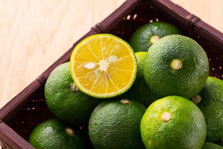 Japanese fruits, sudachi