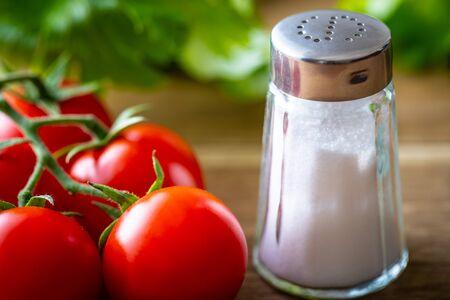 Salt and vegetables