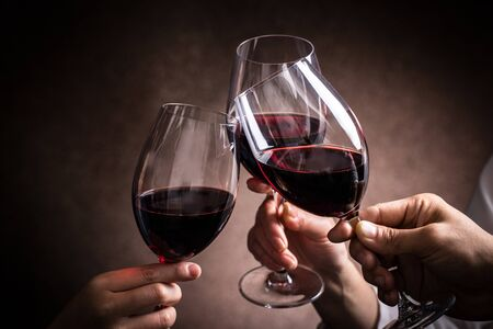 Here's to red wine.