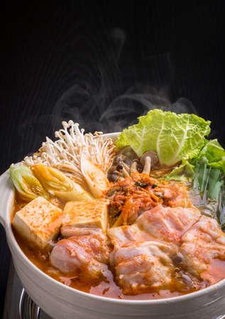 Kimchi hot pot Stock fotó