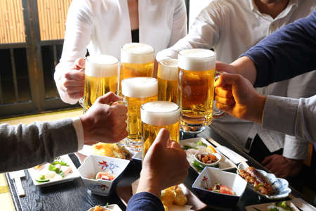 Japanese Izakaya - Cheers with Draft Beer