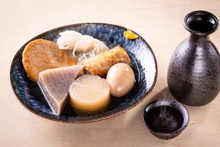 Oden and sake