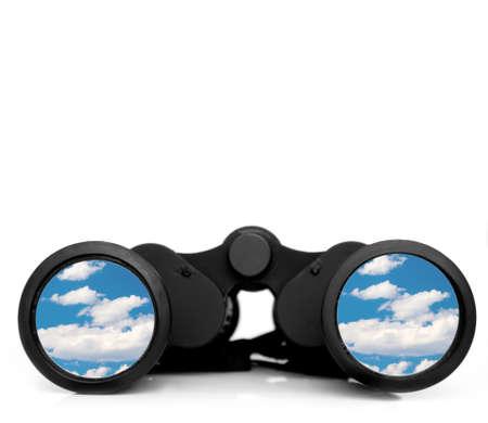 and future vision: Visión de futuro Foto de archivo