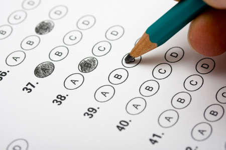 education choice: Multiple Choice Test
