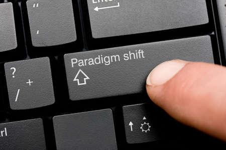 paradigma: Cambio de paradigma