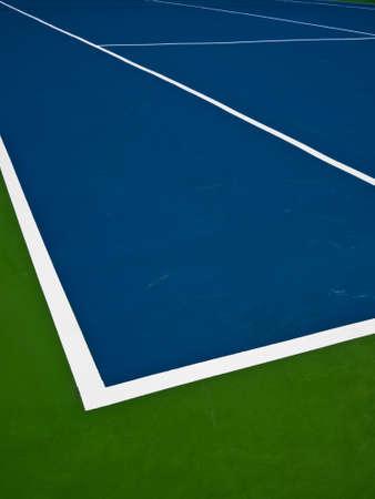 tenis: Cancha de tenis Foto de archivo