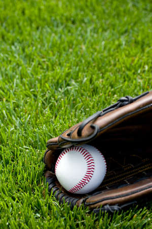Baseball on field Stock Photo - 10592770