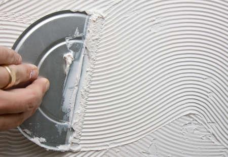 bathroom tiles: Tiling adhesive
