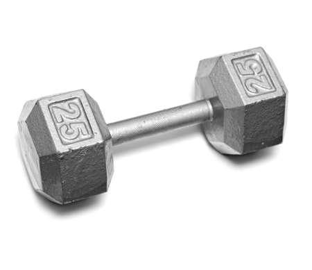 25 pound weight Stock Photo - 10625763