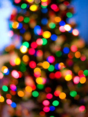 christmas backgrounds: Christmas tree lights