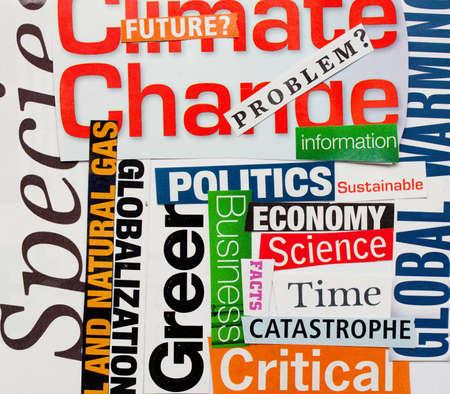 気候変動の背景の変更 写真素材
