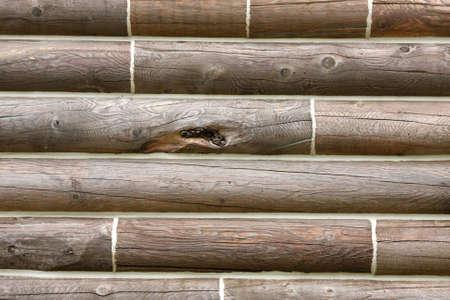 Log cabin background Stock Photo - 10624897