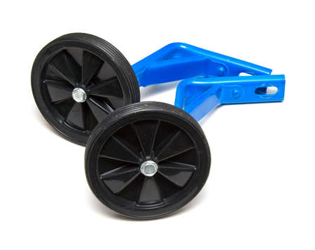 training wheels: Training wheels Stock Photo