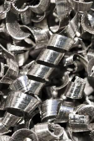 Metal shavings Stock Photo - 10625712