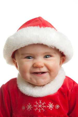 Baby Santa outfit Stock Photo - 10624952