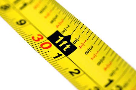 巻尺の足のマークで 写真素材 - 10654512