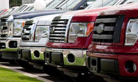 New trucks on lot