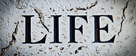 word life carved in stone
