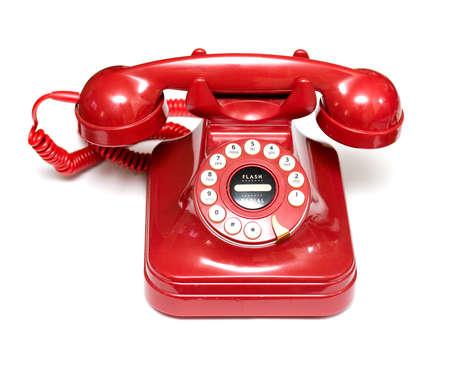 Red retro téléphone Banque d'images - 10656505
