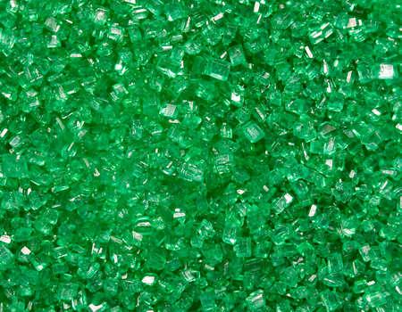 Green candy sprinkles Stock fotó