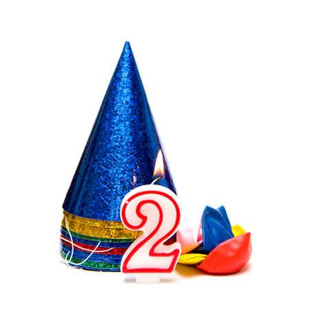 Party hats Banco de Imagens - 10654520