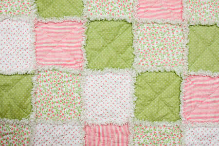 quilt: Baby quilt Stock Photo