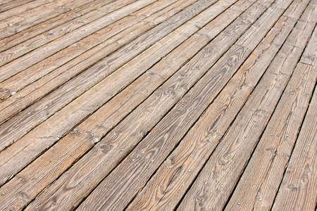 treated board: Wood planks