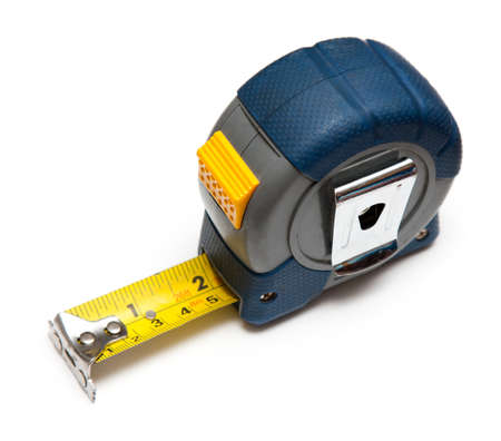 tape measure: Blue tape measure