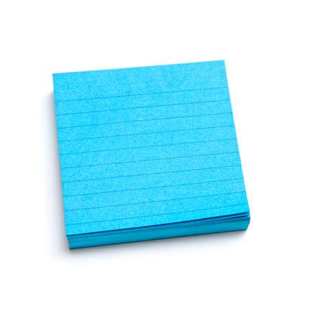 Blue sticky notes