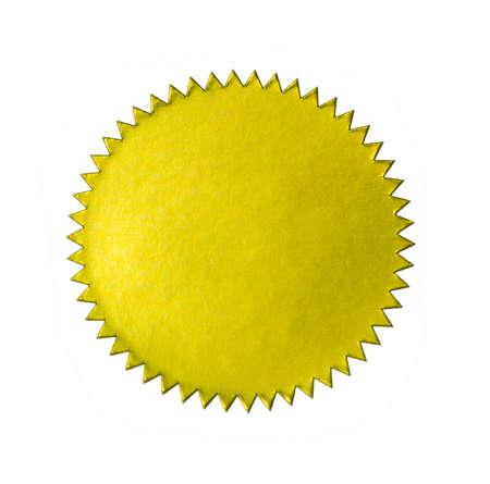Sticker Oro Archivio Fotografico - 10654502