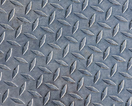 rough diamond: Steel plate Stock Photo