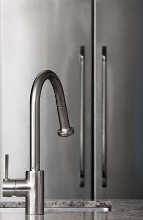 fridge: Kitchen sink