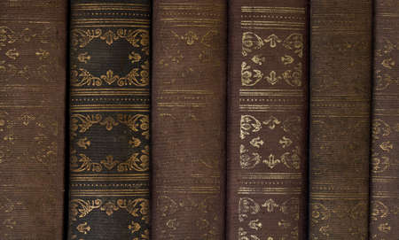 tomes: Old fiction books