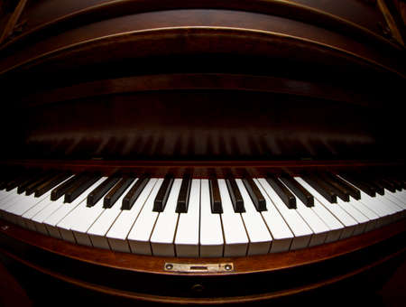 Piano keyboard background photo